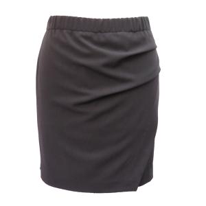 Pure-couture-créatrice-prêt à porter-femme-Jupe-portefeuille-drapée