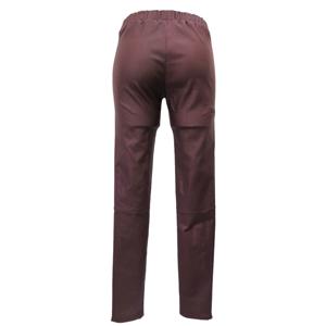 Pure-couture-Pantalon-Slim-enduit-bordeau-dos