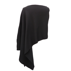 Pure-couture-Pull-poncho-noir-dos