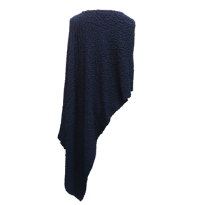 Pure-couture-Pull-poncho-marine-dos