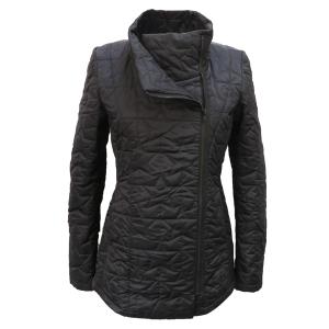 Pure-couture-créatrice-prêt à porter-femme-Doudoune-Rock-Noire