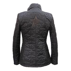 Pure-couture-Doudoune Rock Noire Dos