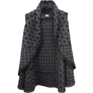 Pure-couture-créatrice-prêt à porter-femme-Gilet-Poncho