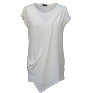 Pure-couture-créatrice-prêt à porter-femme-Tee-shirt-Lou-blanc