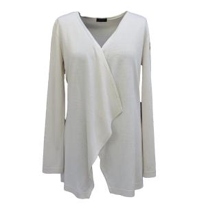 Pure-couture-créatrice-prêt à porter-femme-Gilet-Cascade-Beige (2)