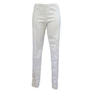 Pure-couture-créatrice-prêt à porter-femme-Pantalon-slim-beige