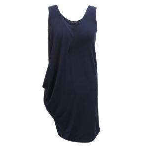 Pure-couture-créatrice-prêt à porter-femme-Robe-deva-marine